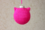 Pussy Hat Ornament - A Pattern from Lucky Fox Knits