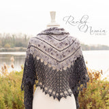 Starlight Shawl - A Pattern From Rachy Newin Designs