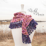 Bumps In The Road Shawl - A Pattern From Rachy Newin Designs