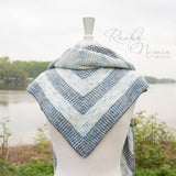 Through The Clouds Shawl - A Pattern From Rachy Newin Designs