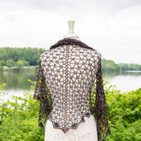 Heart Of The Atlantic Shawl - A Pattern From Rachy Newin Designs