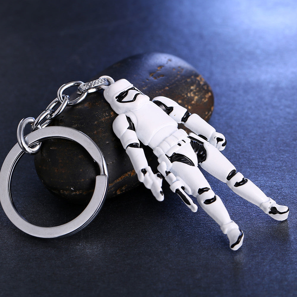 Star Wars Mini Action Figure Stormtrooper Keychain Keychainy