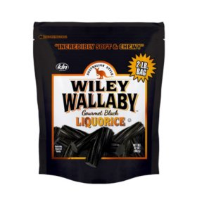 Wiley Wallaby (Black Licorice)
