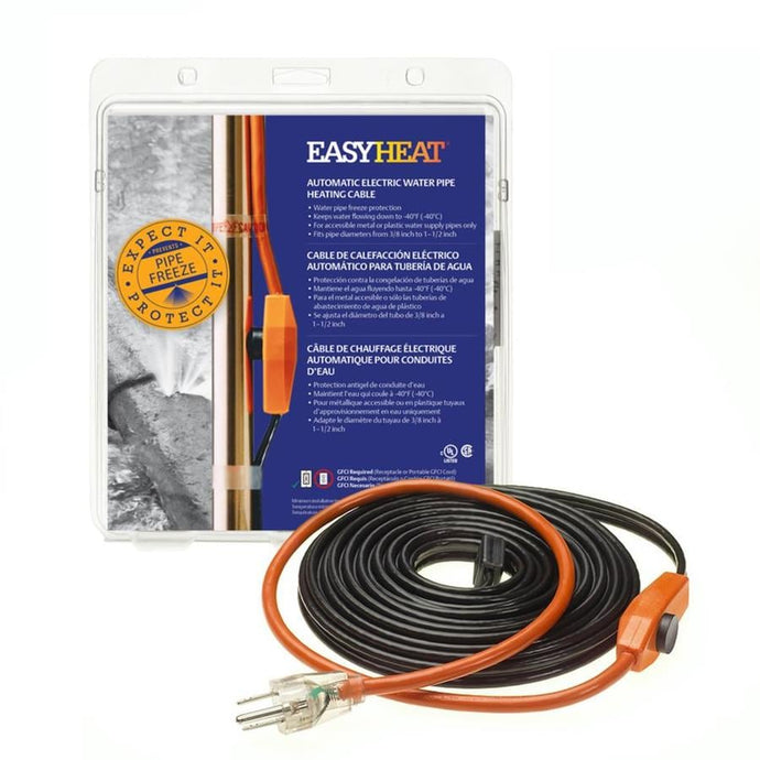 EasyHeat Water Pipe Heating Cable