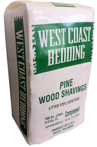 West Coast Pine Shavings