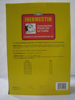 Ivermectin Pour-On For Cattle 250ml
