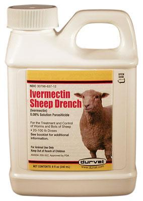 IVERMECTIN SHEEP DRENCH 240ml DURVET