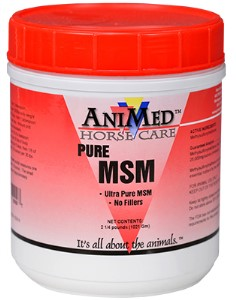 MSM 99.9% PURE 2.25# JAR ANIMED
