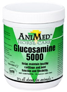 GLUCOSAMINE 5000 POWDER 1# JAR  ANIMED