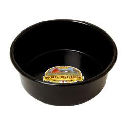 5 QT Plastic Pan (Black)