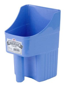 3QT Enclosed Feed Scoop (Berry Blue)
