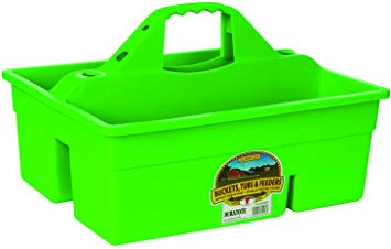 Lime Green Grooming Tote Box