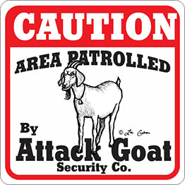 Area Patrolled By Attack Goat