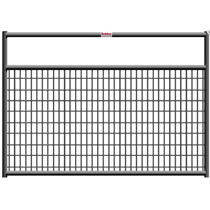 12' Galvanized Mesh Gate