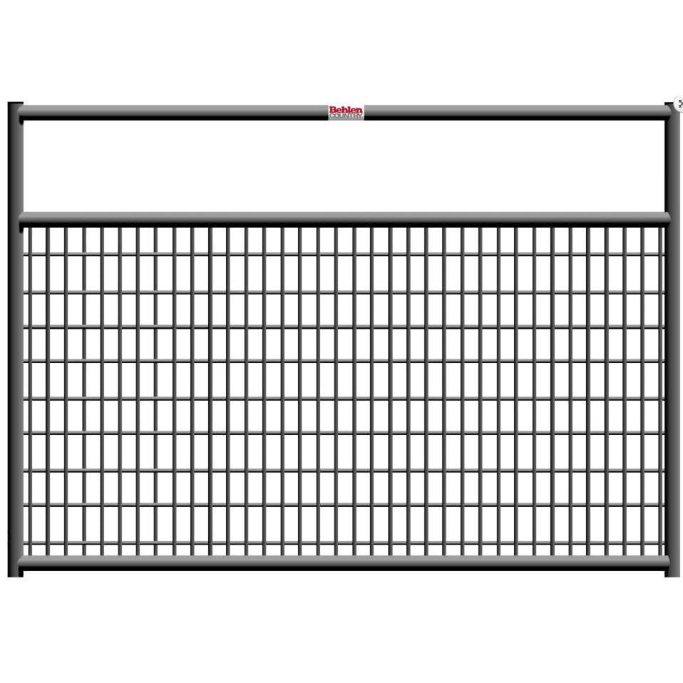 10' Galvanized Mesh Gate