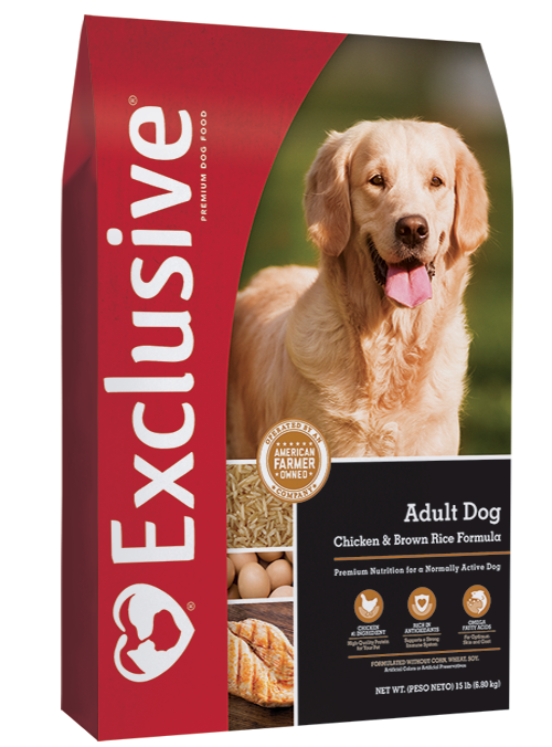 Exclusive Chicken & Rice 30Lb