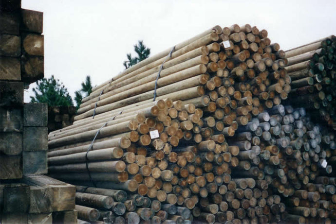 Treated Wood Posts(Round)