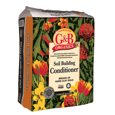G&B Organic Soil Building Conditioner 3Cft