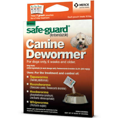 Safeguard Canine Dewormer 10# (Orange)