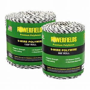 9-Wire Polywire 1320ft