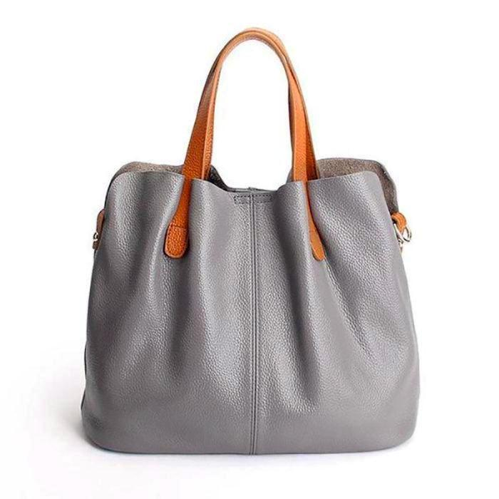Genuine Leather Purse - - Bags