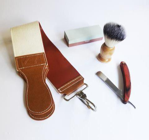 Mens Straight Razor Set - - Accessories