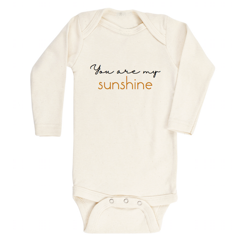You Are My Sunshine - Long Sleeve Bodysuit