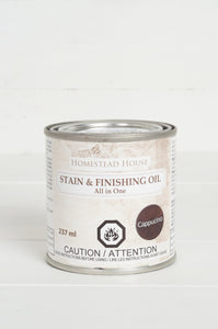 Fusion Mineral Paint Stain and Finishing Oil - Cappucino