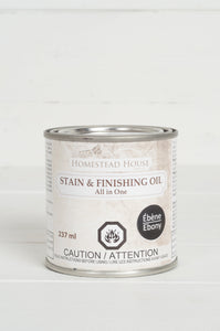 Fusion Mineral Paint - Stain and Finishing Oil - Ebony