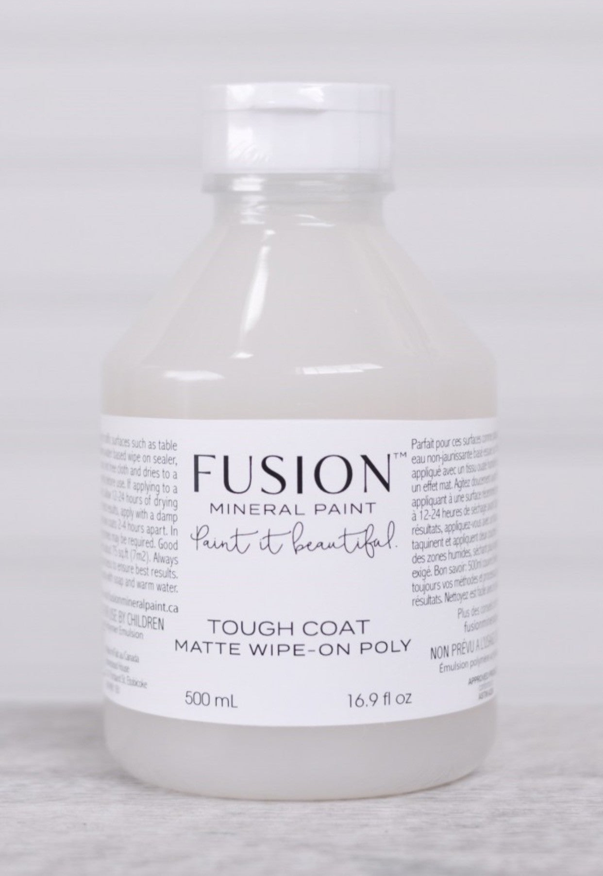 Fusion Mineral Paint - Clear Tough Coat Matte