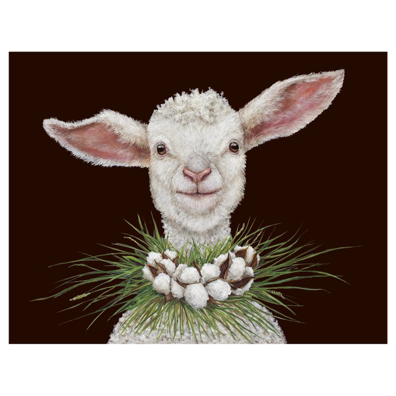 Holiday Card - Elizabeth the Sheep
