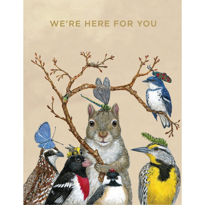 Greeting Card - Here For You Crew