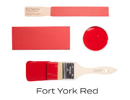 Fusion Mineral Paint - Fort York Red 16oz.