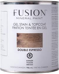 Fusion Mineral Paint - Gel Stain & Topcoat - Double Espresso