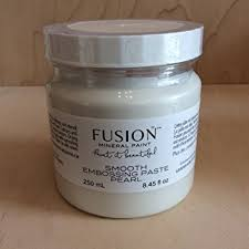 Fusion Mineral Paint - Smooth Embossing Paste Pearl