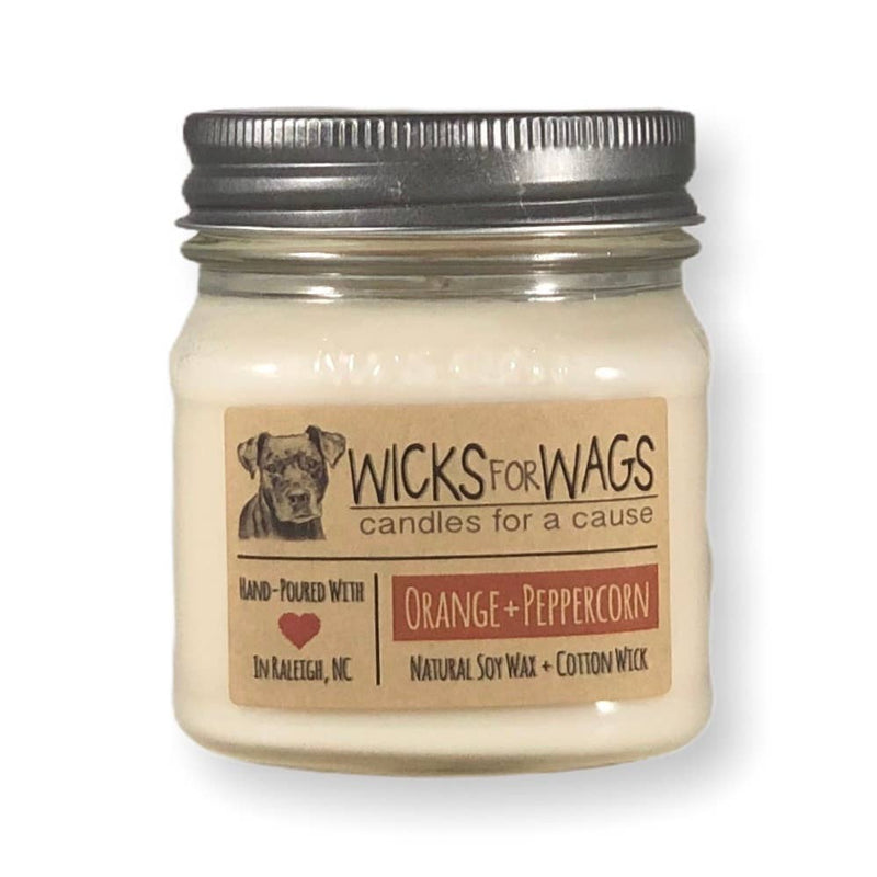 Orange Peppercorn - Wicks for Wags 8oz.
