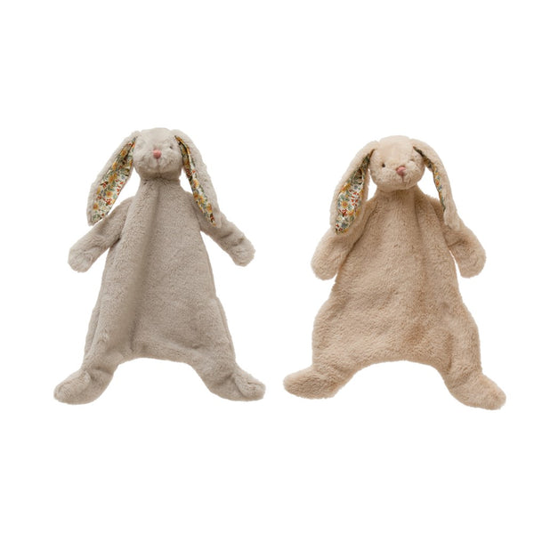 "Plush Bunny Snuggle Toy, 2 Colors 15""L x 3""W x 20""H"