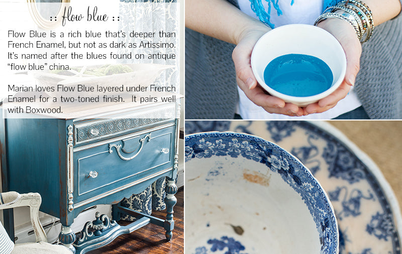 Miss Mustard Seed's Milk Paint - Flow Blue