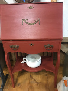 Vintage Secretary Fold Down Desk
