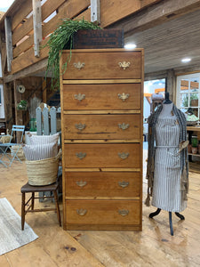 6 Drawer Fir Dresser