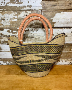 Hand Woven Grass Tote