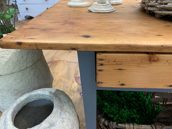 Vintage Pine Console/Side Table