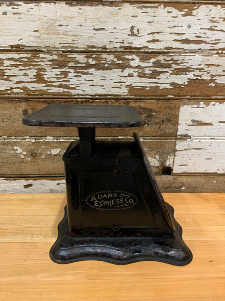Antique 1906 Adams Express Co. Kitchen Counter Scale