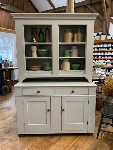 Vintage Painted Hutch