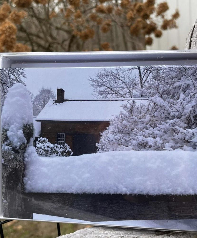 "Box of 10 Cards : ""Fresh Snow"" Lakeville, CT"