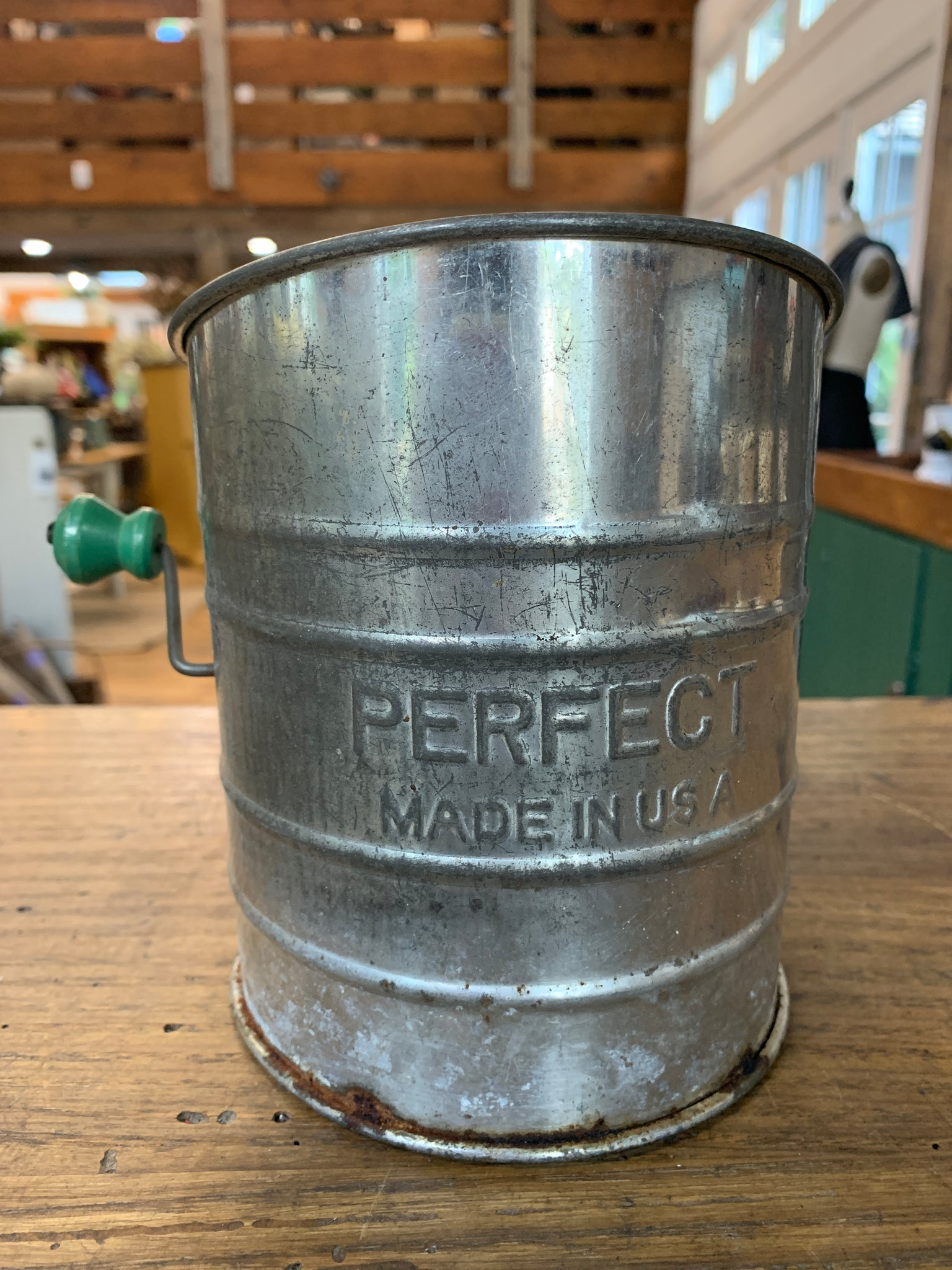 Vintage Flour Hand Sifter
