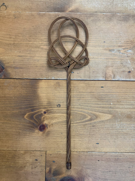 Vintage Small Rattan Carpet Beater