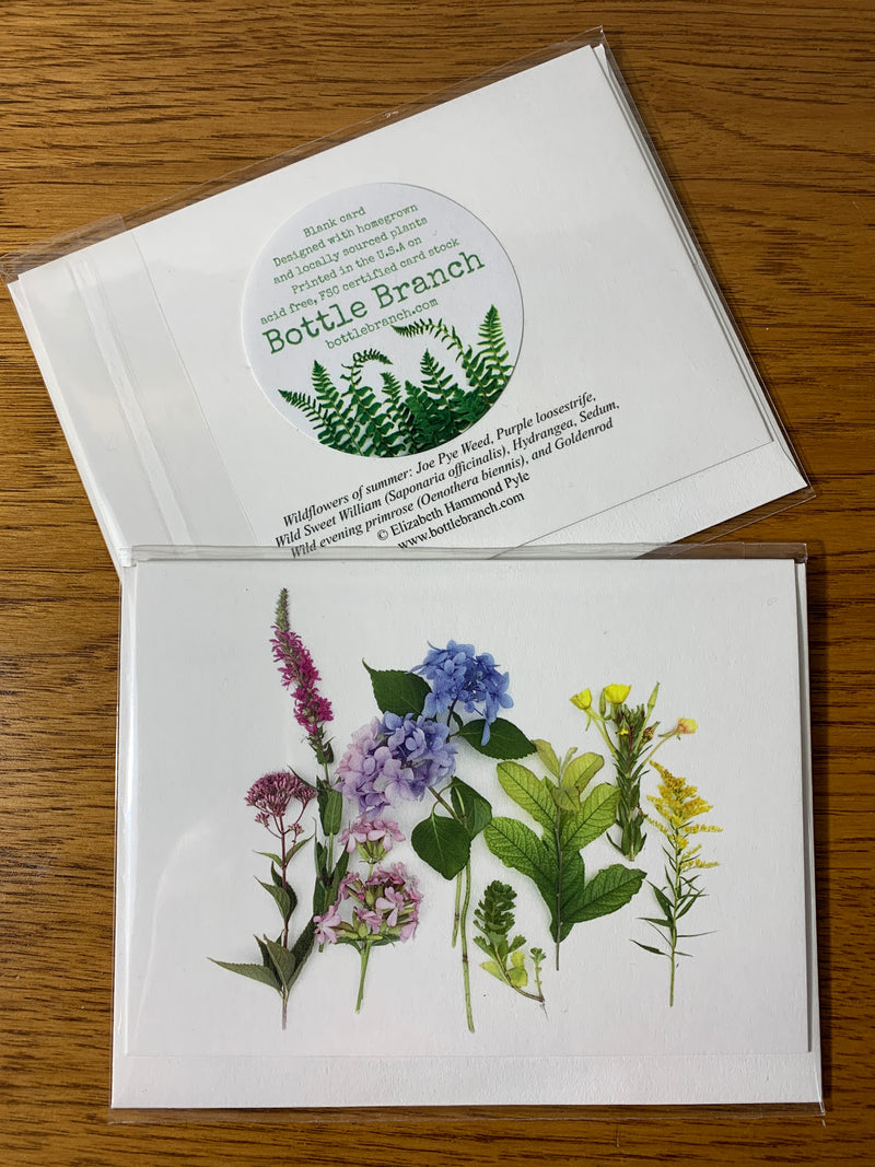 Wildflowers of Summer Card