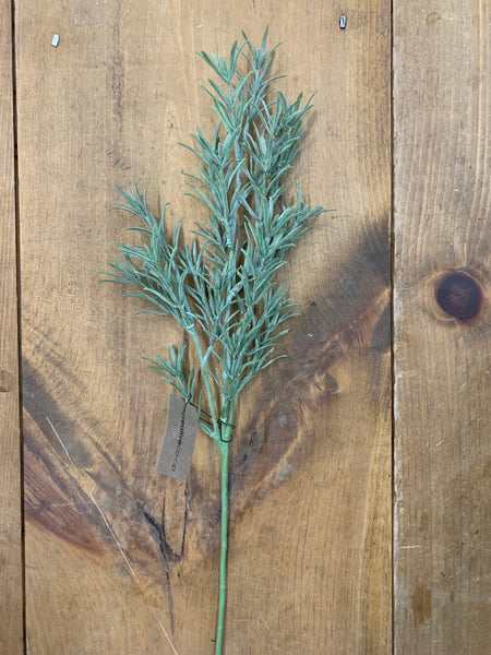 Faux Rosemary Stem 19""