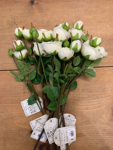 White Rose Spray 24